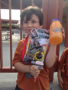 School Jog-a-thon prizes