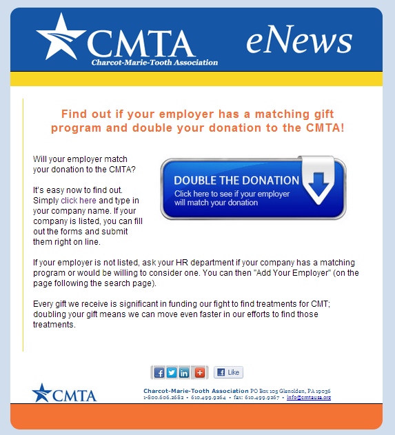 cmta-matching-gift-email-newsletter