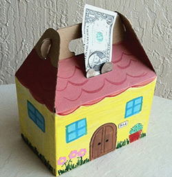 Houses for Change collection boxes