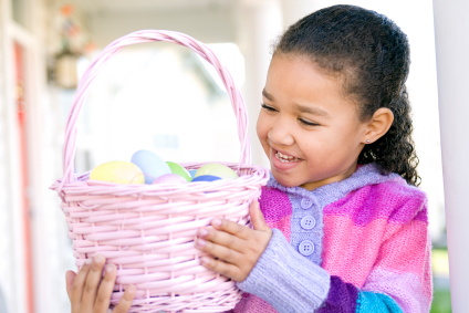 Consider Easter baskets for a fundraiser the whole family can do!