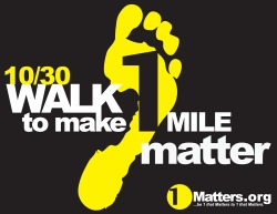Walk to make 1 mile matter