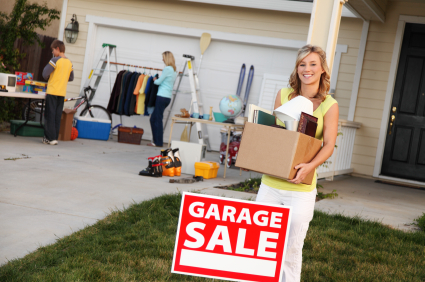 Yard Sale Fundraisers: how to run a community yard sale